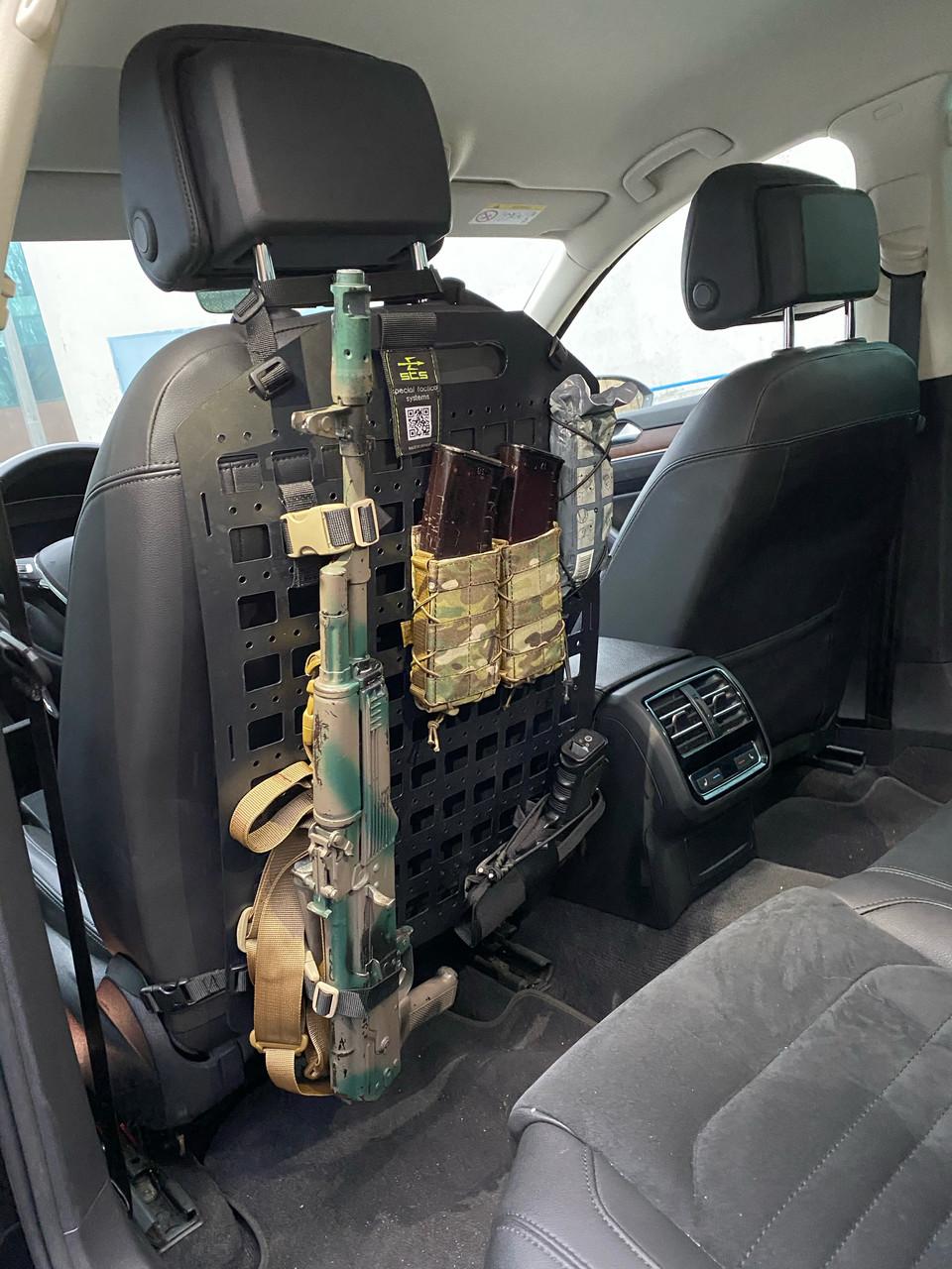 Тактическая панель для сидения автомобиля StS