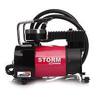 Автомобильный компрессор STORM Big Power 20300, автокомпрессор с манометром