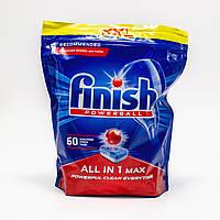 Таблетки для посудомоечной машины Finish All in 1 Max (60 шт.)