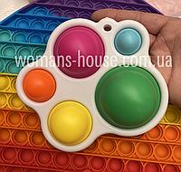 Игрушка анти-стресс Simple Dimple 14 см 5 пупырок