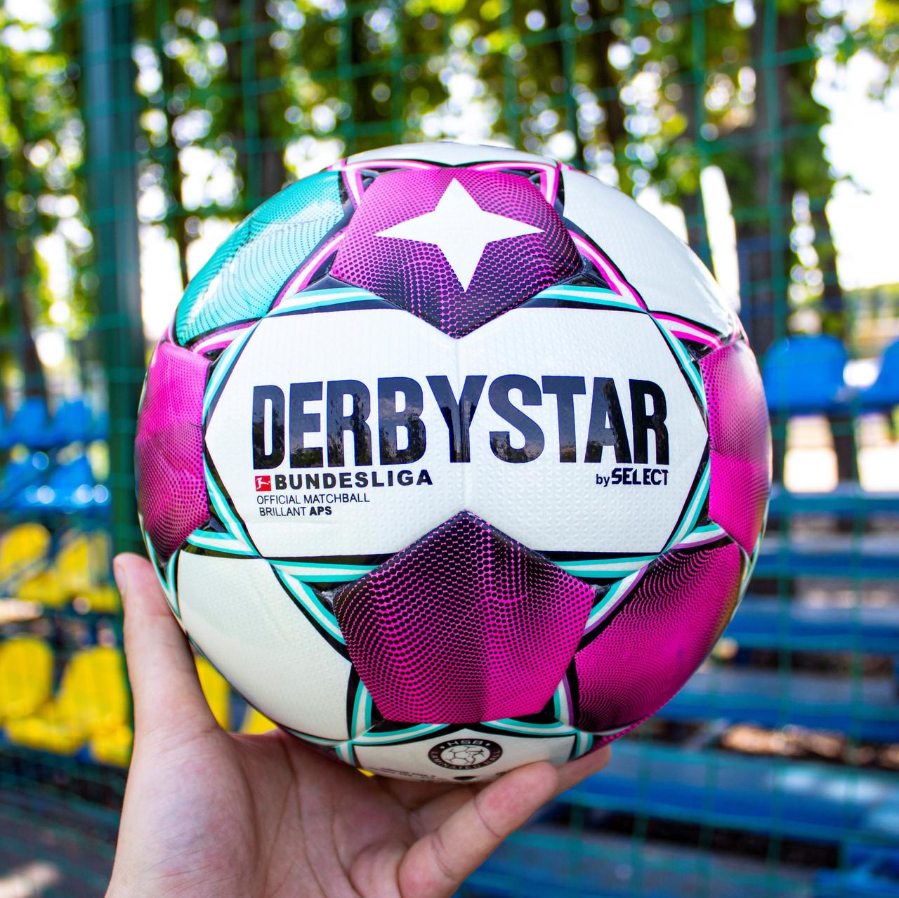 Футбольний м'яч Derbystar Bundesliga Brilliant APS