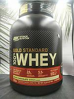 100% Whey Gold Standard Optimum Nutrition 2270 грамм (протеин голд стандарт) США 2.27kg