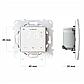 Терморегулятор программируемый terneo sx Wi-Fi (белый), сенсорный программатор для теплого пола, фото 6