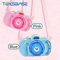 Дитячий фотоапарат для мильних бульбашок, генератор Bubble Camera, фото 1