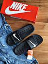 Мужские тапочки Nike Black, фото 2