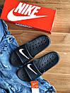 Мужские тапочки Nike Black, фото 3