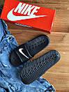 Мужские тапочки Nike Black, фото 4