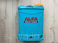 Акумуляторний обприскувач AL-FA Li-ion батарея : 16L, 12A.h, фото 2