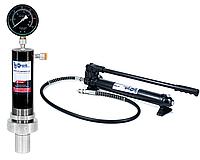 Цилиндр гидравлический для пресса с манометром 20 тонн Profline 97320 + насос на 20 тонн 97320+97106, фото 1