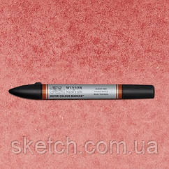 Маркер акварельный Winsor Watercolor Markers № 061 Burnt Red