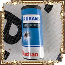 Липка стрічка для мух Auchan Rubans Mouches 100 шт./уп.