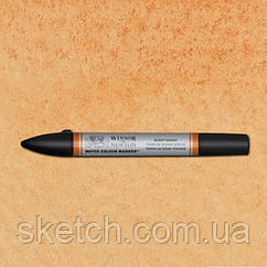 Маркер акварельный Winsor Watercolor Markers № 074 Burnt Sienna