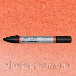Маркер акварельный Winsor Watercolor Markers  № 095 Cadmium Red