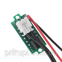 Цифровий датчик температури -50℃ ~ 125℃ - універсальний автомобільний термометр DC 4,0 V - 28V без врізний, фото 2