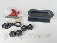 Система контроля давления и температуры в шинах TPMS с 4 внешними датчиками, солнечная панель, фото 3
