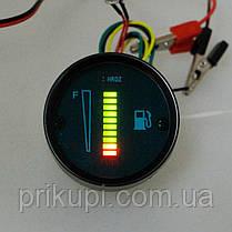 Електронний покажчик (індикатор) рівня палива універсальний, фото 2