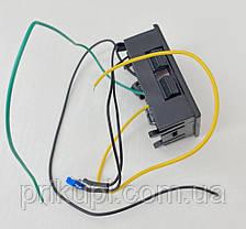 Электронный указатель (индикатор) уровня топлива универсальный (врезной) СИНИЙ, фото 3