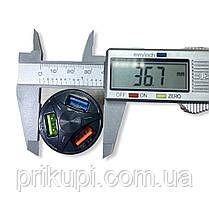 Зарядное устройство в прикуриаатель на 3 USB 12-24 вольта QC 3.0 Quick Charge быстрая зарядка, фото 3