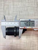 Автомобільний зарядний пристрій на 2 USB по 2.1 А 12В-24В врізне в планку (вбудована USB зарядка в авто), фото 3