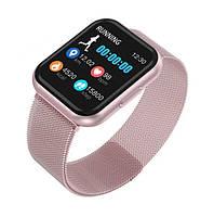 Умный фитнес браслет трекер Smart Band T88 Спортивные смарт часы для здоровья с тонометром шагомером IP67