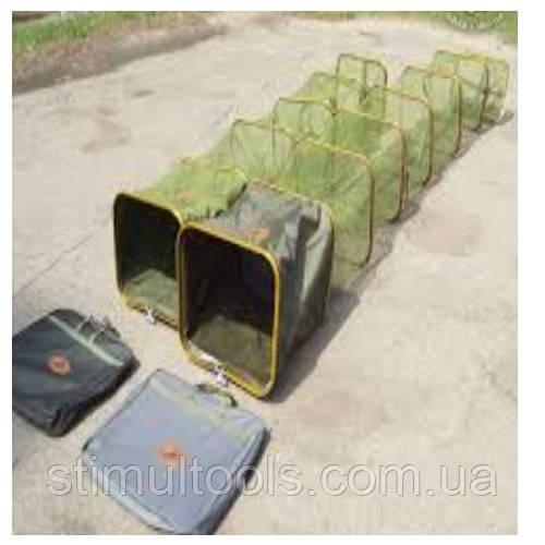 Садок рибальський прямокутний Stenson 45*33 см 2.5 м в чохлі