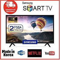 Телевизор СМАРТ ТВ Samsung 42 САМСУНГ Android 9.0 WIFI, IPTV, T2. Ultra HD Новинка 2020 + Гарантия