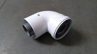 Коліно 90 градусів, d=60/100 mm CE.00.34 H
