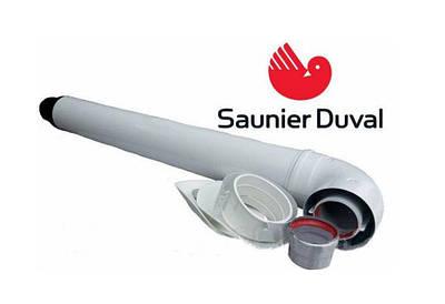 Комплект для горизонтального проходу крізь стіну 1000 мм з точкою відбору, 60/100 мм Saunier Duval