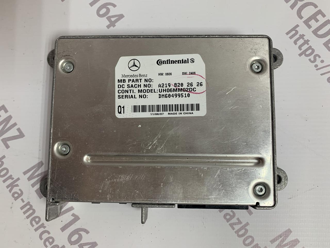 Блок управления телефоном А2198202626 Mercedes ML W164 / GL X164 управління телефоном Мерседес мл гл 164