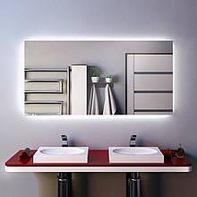 Зеркало для ванной с подсветкой 1200х600 мм
