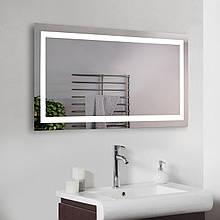 Зеркало с подсветкой для ванной комнаты 1200х600 мм