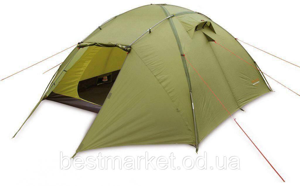 Палатка Туристическая 4-5-ти Местная Зеленая