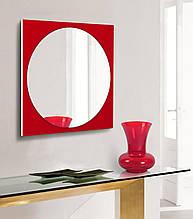 Дзеркало на основі фарбованого скла 600х600