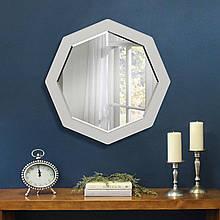 Зеркало с фацетом восьмиугольное ( круглое ) 600 мм