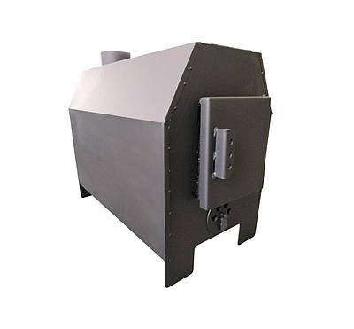 Піч Буржуй 5 кВт с варильною поверхнею