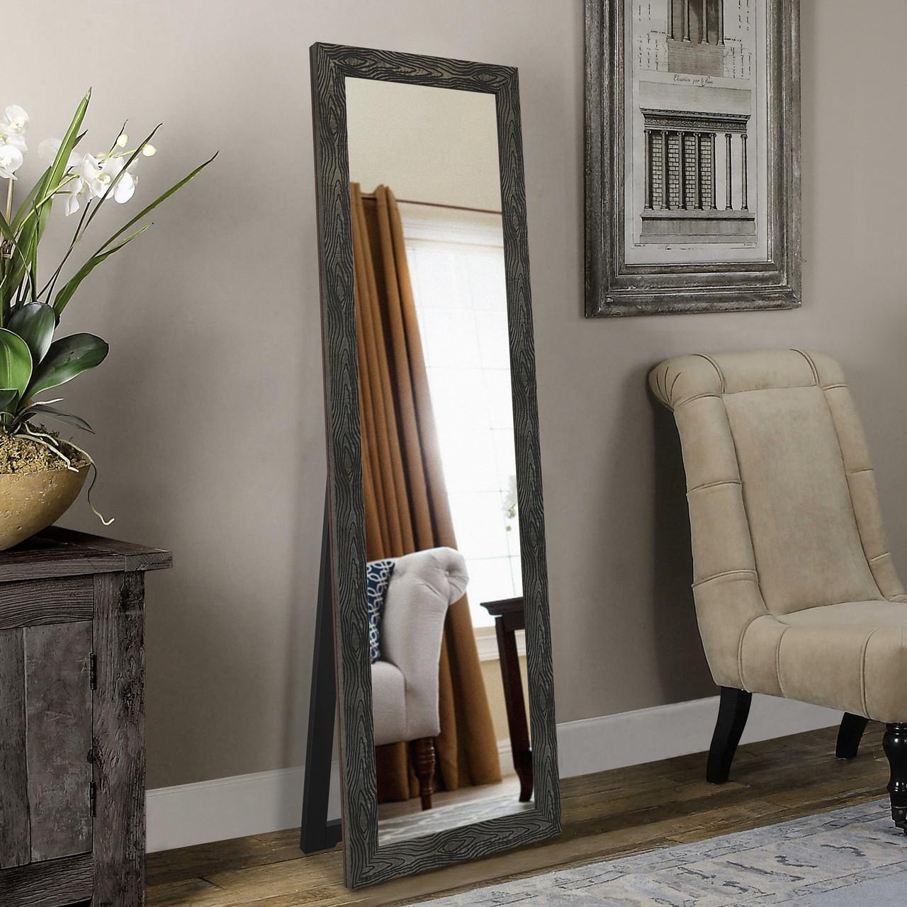 Дзеркало ростовое, підлогове в стилі лофт 1900х600 мм