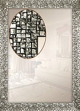 Зеркало в багетной раме для ванной спальни коридора