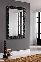 Зеркало в черной раме глянец