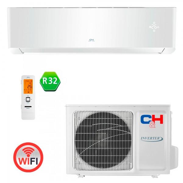 Кондиціонер тепловий насос Cooper&Hunter CH-S24FTXAL-(WP, BL, GD, SC) Wi-Fi