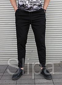 Мужские летние брюки чёрные