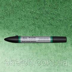 Маркер акварельный Winsor Watercolor Markers   № 312 Hooker's Green Dark