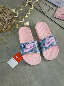 Жіночі тапочки Nike Benassi Pink