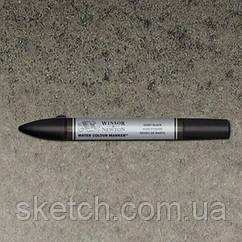 Маркер акварельный Winsor Watercolor Markers   № 331 Ivory Black