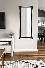 Зеркало настенное черно -белое 1300х550 мм