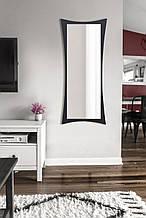 Зеркало настенное, черное 1300х550 мм