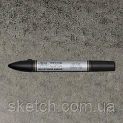 Маркер акварельный Winsor Watercolor Markers    № 337 Lamp Black