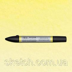 Маркер акварельный Winsor Watercolor Markers    № 346 Lemon Yellow Hue