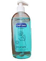 Гель для интимной гигиены с экстрактом календулы On Line Delicate 500мл