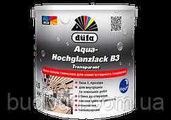 Аква-эмаль глянцевая В3 транспарентная Dufa Aqua-Hochglanzlack 2,5 л
