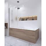 Штора на ванну Qtap Standard CRM407513APL Pear, фото 10